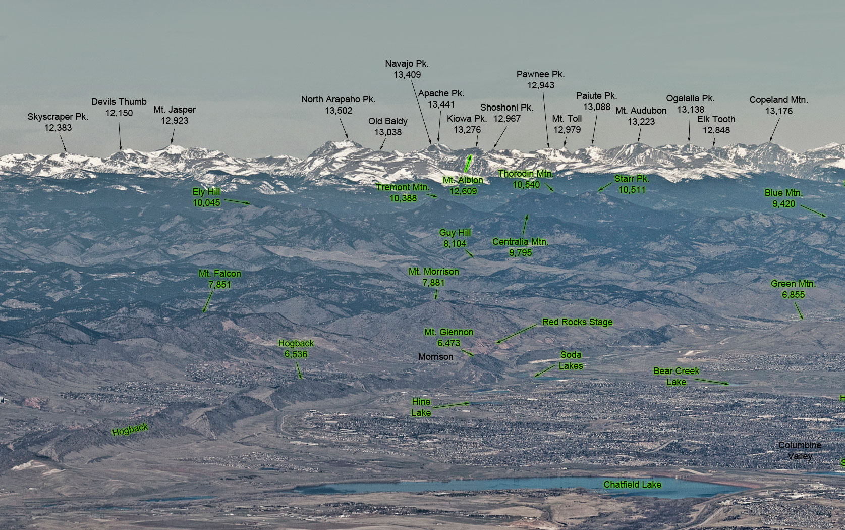 Image of: Front Range Photos Of The Mountains