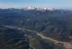 pikes peak aerial view