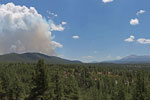 Waldo Canyon Fire from Woodland Park